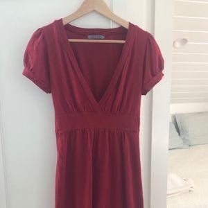 Rust dress from Velvet